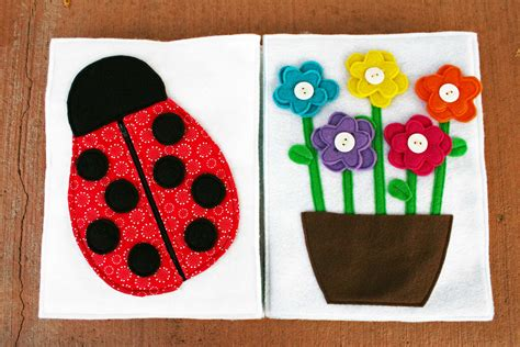 patterns for quiet book pages sunshine lollipops and rainbows the ladybug and the