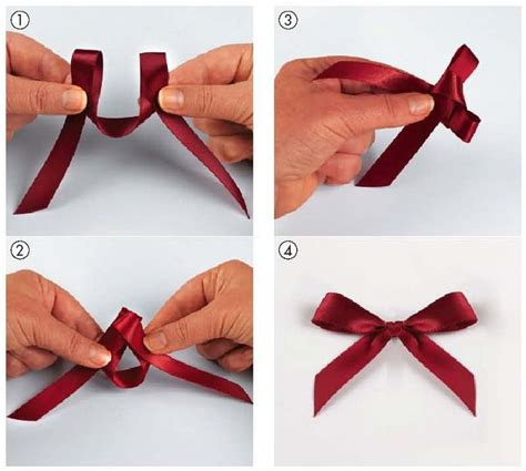 tie the perfect bow do it yourself pinterest