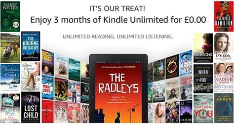 extended kindle unlimited free trial offers 2 months us