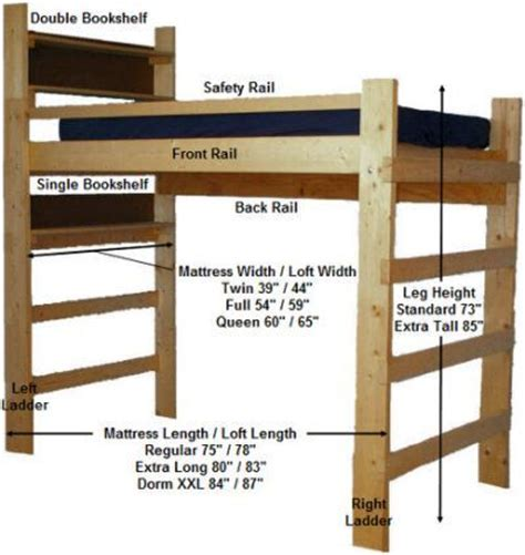 Bunk Beds For College Students Loft Ladder And Railing From Looks Loft Ladders Railings And Lofts