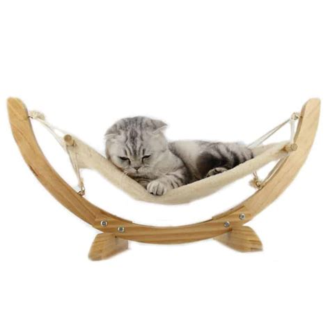 Hamac Chat by Hamac En Bois D 233 Co Pour Chat Univers Chat