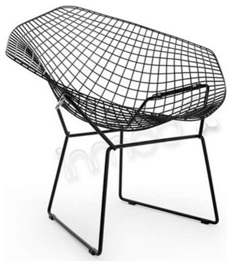 bertoia wire chair modern outdoor lounge