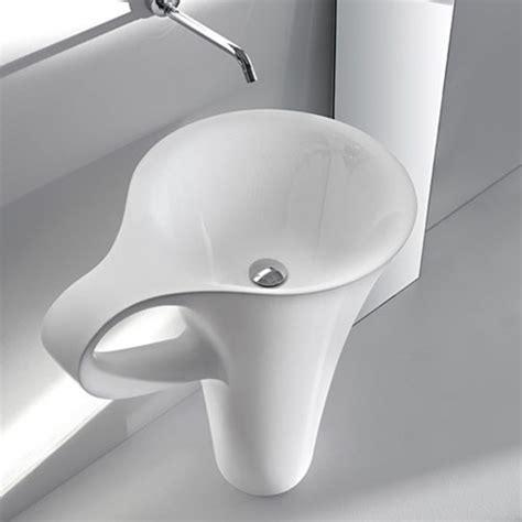 free standing bathroom sinks artceram one shot cup free standing washbasin modern