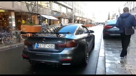 Lamborghini Kickdown by 3 Supercars In Hannover Lamborghini Kickdown Hamann M4