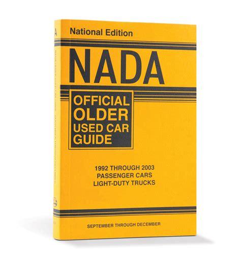 nada  car guide eastern edition  cars