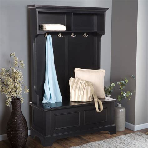 entry coat bench entryway storage bench with coat rack large