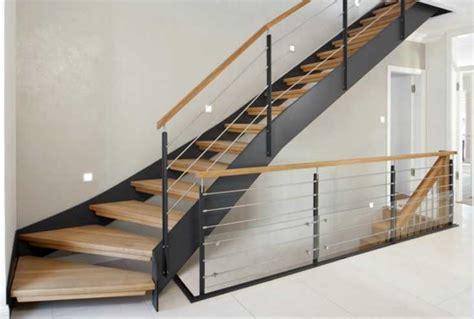handlauf treppe außen treppe idee gerade