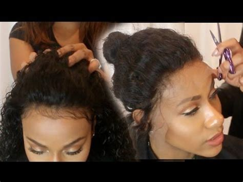 gule in hair style for black beginners how to make a frontal wig tutorial start to finish