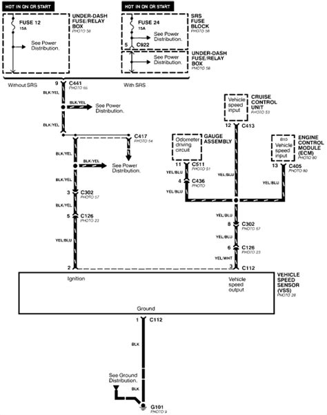 honda accord sdometer schematic get free image about