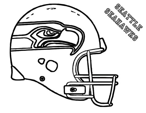 printable coloring pages nfl nfl football helmet coloring pages coloring home