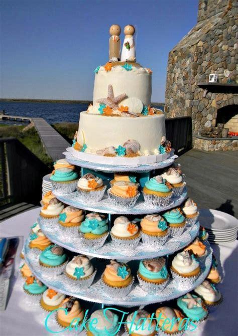 Teal And Orange Beach Wedding   CakeCentral.com