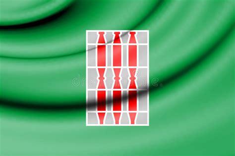 dell umbria bandiera dell umbria italia illustrazione di stock