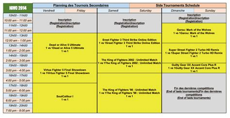 Uh Professional Mba Schedule by Ivgc 2014 Schedule Image 3