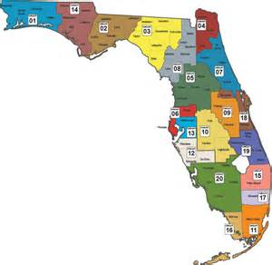 florida state map by county community supervision facilities circuit map