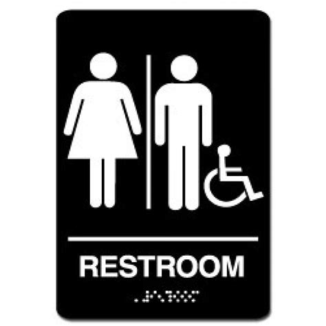 ada bathroom signs 8x8 unisex handicap restroom handicap bathroom dimensions
