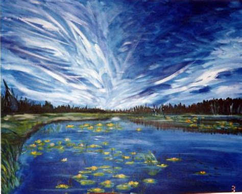 acrylic painting sky how to paint a sky big blue sky acrylic painting