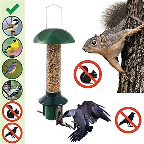 roamwild pestoff squirrel proof bird feeder nyjer thistle