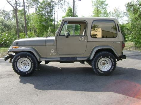 1989 Jeep For Sale 1989 Jeep Wrangler With Top Doors Low