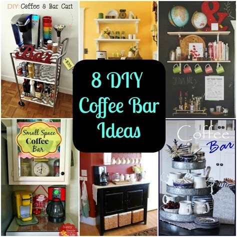 Kitchen Nook Furniture Set by 8 Diy Coffee Bar Ideas For Your Home Diy For Life
