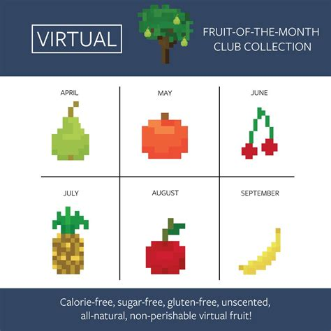 fruit of the month club introducing the fruit of the month club collection