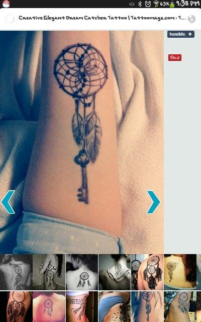 dreamcatcher tattoo tattoos pinterest dreamcatcher
