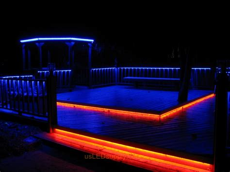 under deck lighting ideas 5 stunning ways to use rope lighting on a deck room bath