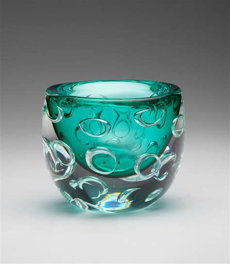 bristol turquoise glass vase by cyan design