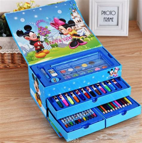 Jangka Set Dengan Isi Pensil It Is My jual radysa crayon set isi 54pcs micky blue others radysa organizer
