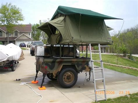 jeep trailer build expedition trailer build pic heavy international full