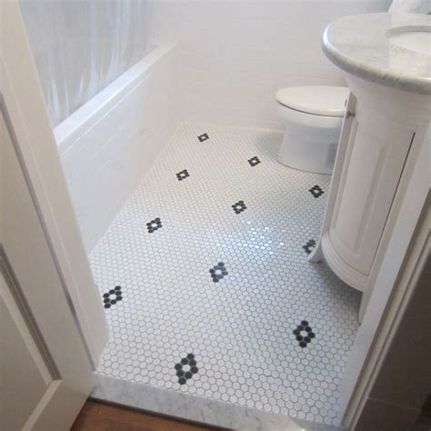 diamond pattern with hex tile home ideas bungalow