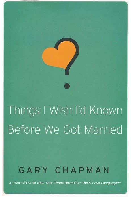 things i wish id momentum things i wish i d known before we got married