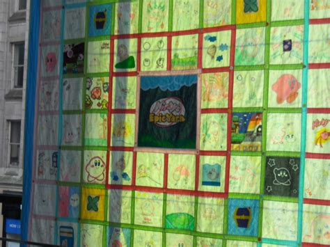 kirby quilt nyc nintendo world by chozoboy on deviantart