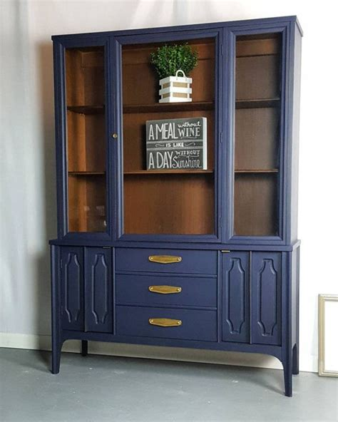 blue buffet cabinet light blue sideboard purple and blue