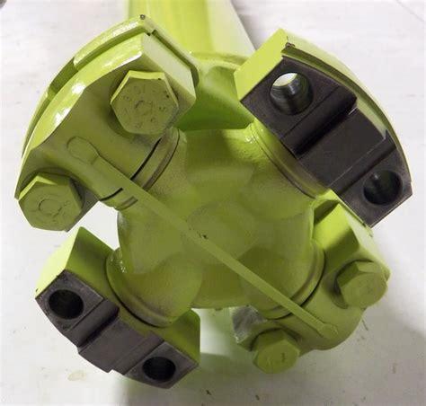 steiger turbo tiger ii replacement rear diff  drop box mechanics  series driveshaft assembly
