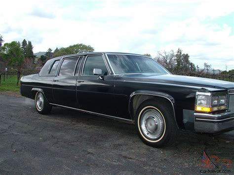 cadillac limousine cadillac fleetwood limousine