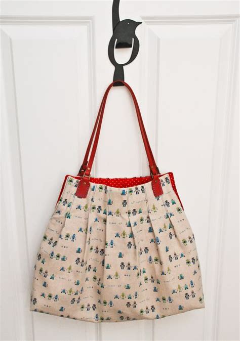 tote bag pattern tote bag pattern free bag purse pattern for pleat s sake tote u handblog