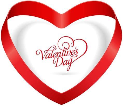 valentines day ribbon ribbon valentines day vector illustration free
