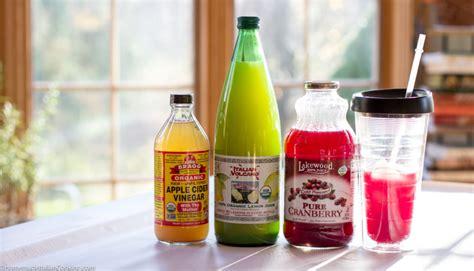 Cranberry Apple Cider Vinegar Detox Drink by Daily Detox Drink Cranberry Apple Cider Vinegar Lemon