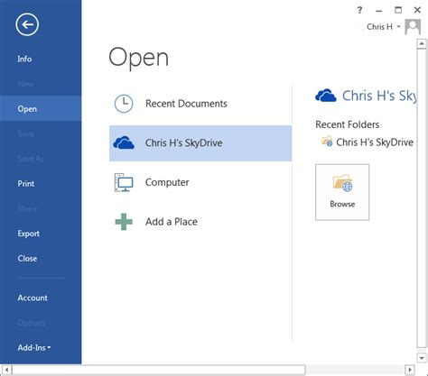 Office Onedrive by How To Use Onedrive As Your Default Save Location On