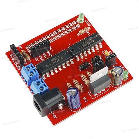 how to a motor with raspberry pi raspberry pi motor robot shield kit l293d electrodragon