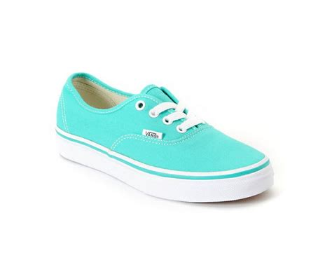 colored vans aqua colored vans shoes for