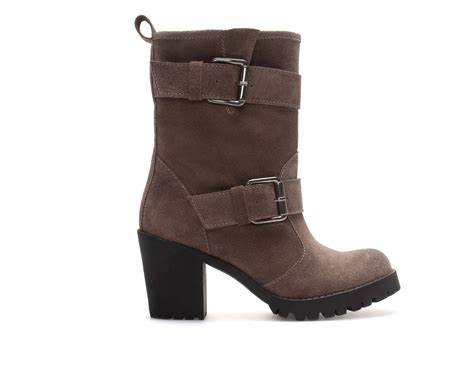 suede high heel ankle boots zara suede leather high heel ankle boot in brown taupe