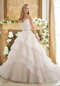 wedding stores elaborately beaded gown wedding dress style 2873 morilee