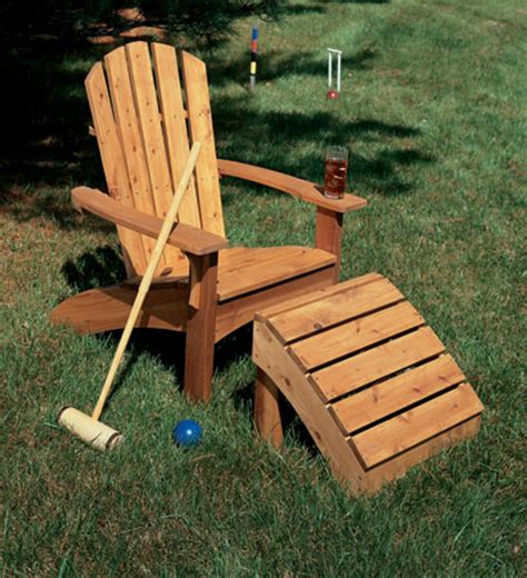 Adirondack Chair Ottoman Plans Diy Wooden Fort Plans How To Make An Adirondack Chair Ottoman