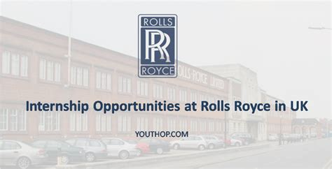 Rolls Royce Mba Internship internship opportunities at rolls royce in uk youth