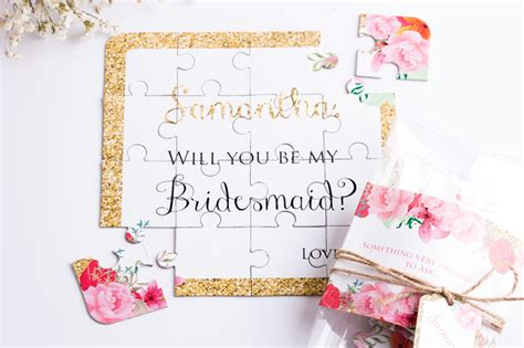 "30 Fun and Creative Ways to Ask ""Will You Be My Bridesmaid""?   Praise Wedding"