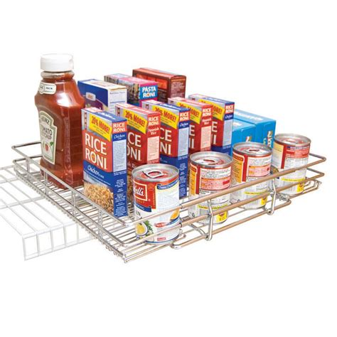 12 inch double pull out chrome wire shelf 18 quot deep 5wb2 12 quot x 12 quot expandable chrome plated pantry pull out shelf