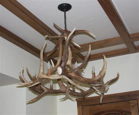 elk antler chandeliers and lighting