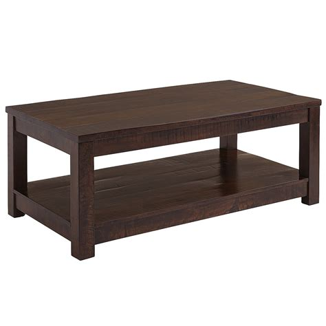 coffee tables parsons tobacco brown coffee table pier 1 imports