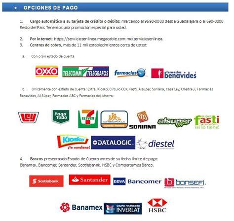 pago izzi online lugares de pago del servicio de megacable